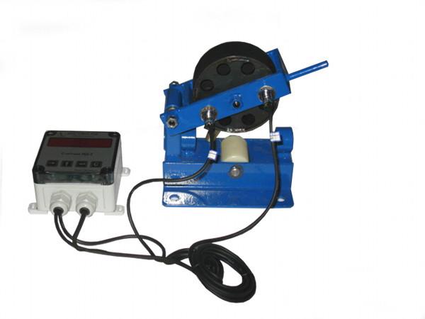 Измеритель длины кабеля МАЛЫЙ, измеритель длины провода, троса, каната, счетчик длины кабеля, счетчик метража (метров) ИДМ-20